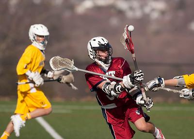 4/11/15: Boys' Thirds Lacrosse vs Brunswick
