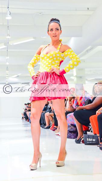 SBFW 2012: Leah Delfiner: Pretty Rebel, Metropolitan Pavillion