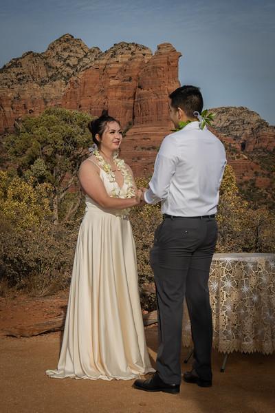 Serigo & Noelani  Sedona Wedding