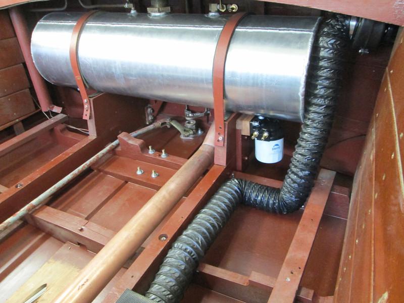 New fuel filter installed.