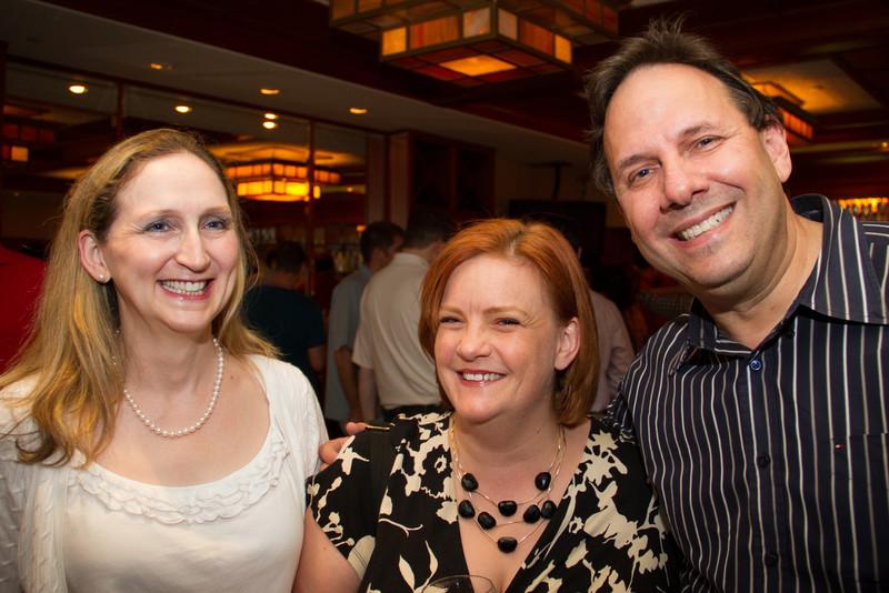 Deborah, Tamera, Ruven, SharePoint Saturday NYC 2012