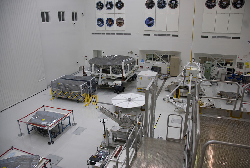 Inside Jet Propulsion Laboratory in California