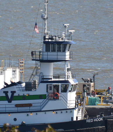 Operator in port door