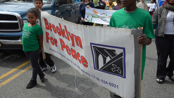 Frolicking In Flatbush For Peace