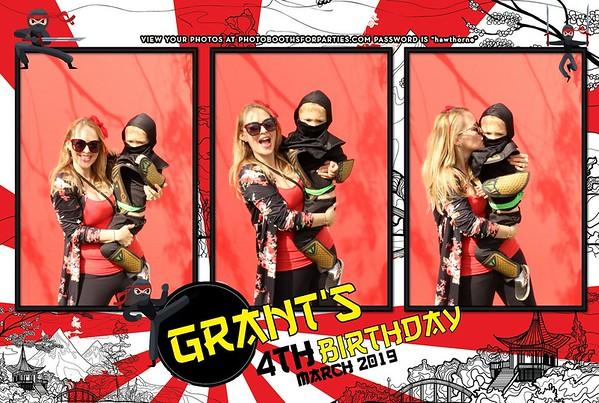 Grant's 4th Birthday