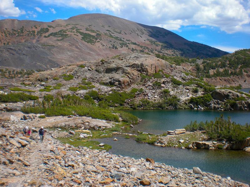 Shamrock Lake (el. 10,374 ft.)
