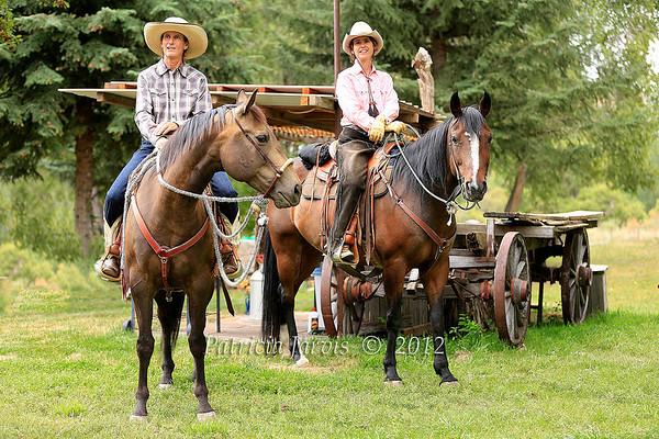 All cowgirls