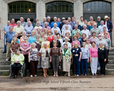 AG Parrish High School Class of 1960