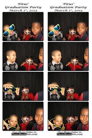03/01/2013 Titus' Graduation PhotoStrips