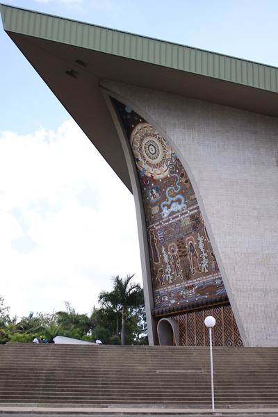 New Guinea parliament in Port Moresby