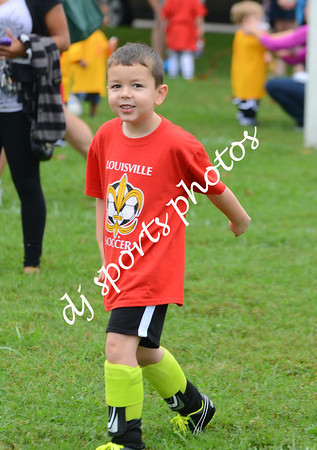 Louisville Developmental Soccer - U6's