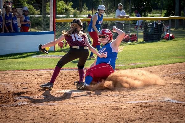 HHA vs DA JV Softball 4-30-18