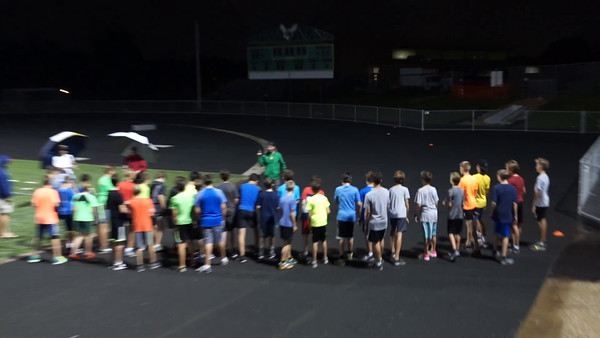 8-23-16 Mile Time Trial Under the Lights