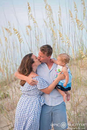 Avon Family Vacation, Hatteras Island, North Carolina, Cape Hatteras National Seashore, Family Photos, Cute Children's Portraits, Family Beach Photos, Epic Shutter Photography