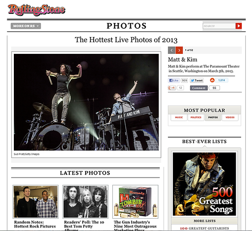 Concert Tearsheets