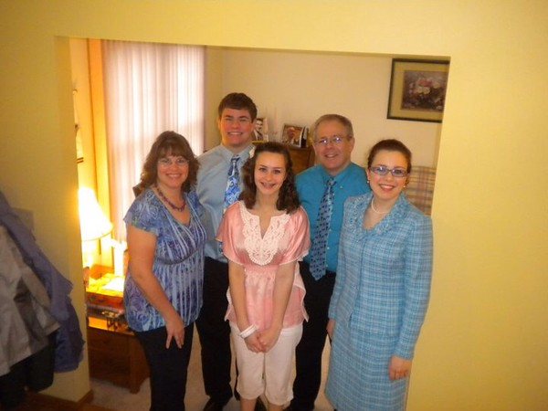Easter, April 25, 2011 in North Royalton, OH