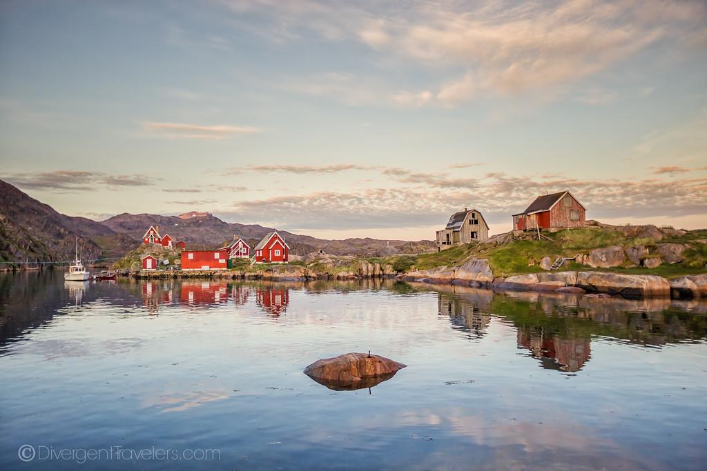 Sisimiut Greenland - Assaqutaq - Lina Stock