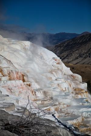 Yellowstone Mammoth Hot Spring