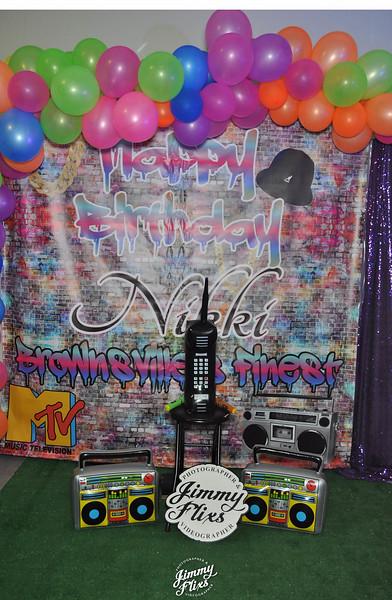 NIKKI BIRTHDAY PARTY