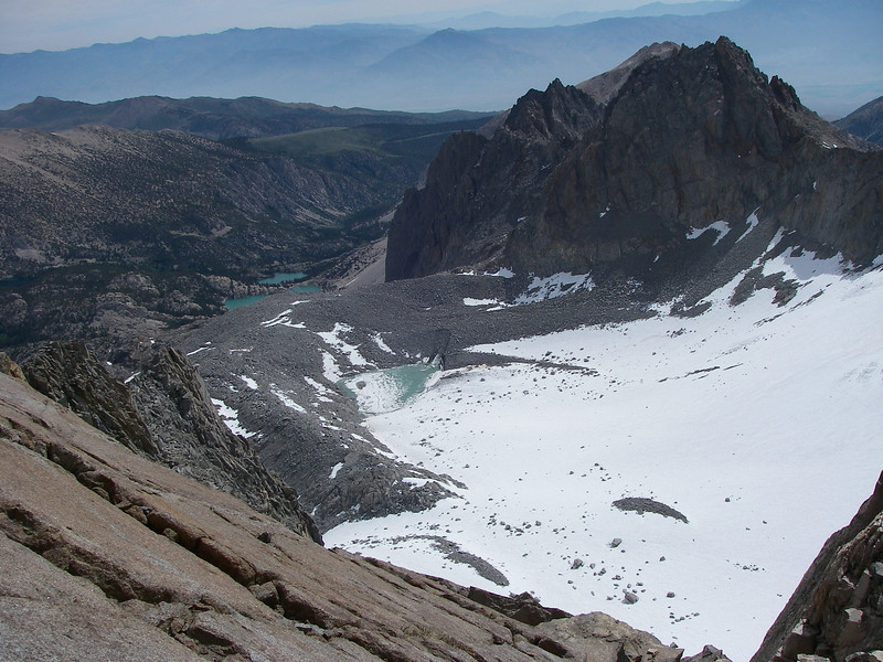 View from the noche to south-east side and Glacier Lodge area
