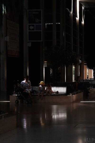 Milton Keynes, sun and shade
