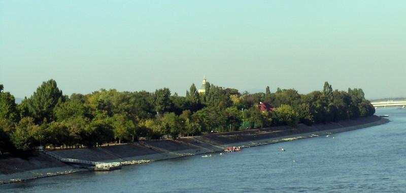 Margaret Island, between Buda and Pest