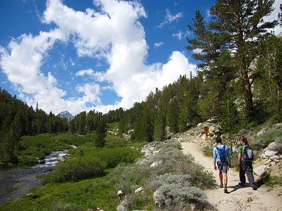 Eastern Sierra: July 2-5, 2009