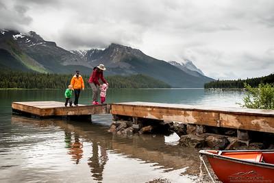 Canada Day 2016 - Maligne Lake Hidden Cove Campground