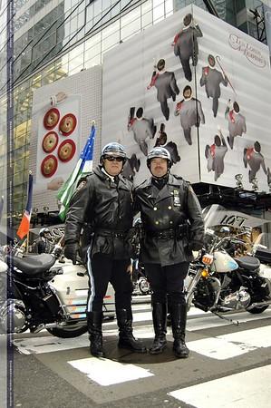 NYPD Highway Patrol Thanksgiving Parade 2009