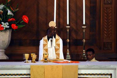 Father Idongesit's first Mass
