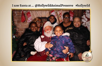 Hollywild Santa Photos - 122119