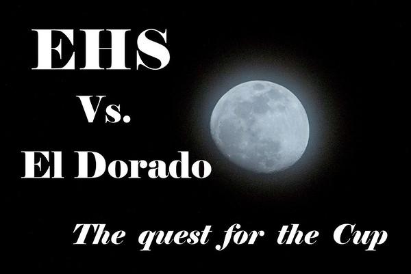 JV & Varsity Cup games vs El Dorado 4-30-15