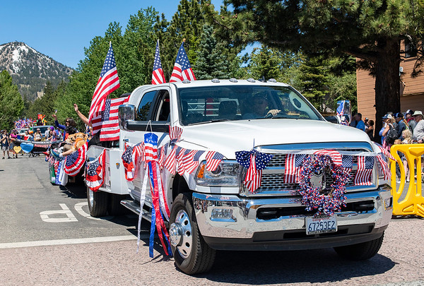 July 4th Parade in Mammoth Lakes, CA