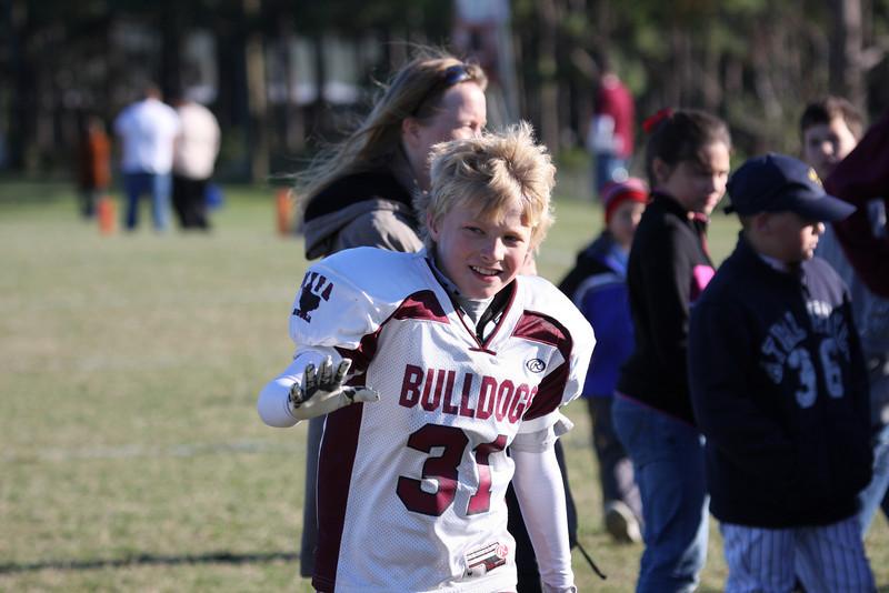2008 Superbowl - Bulldogs vs Cowboys (Juniors) - (MYFA) Magnolia Youth Football