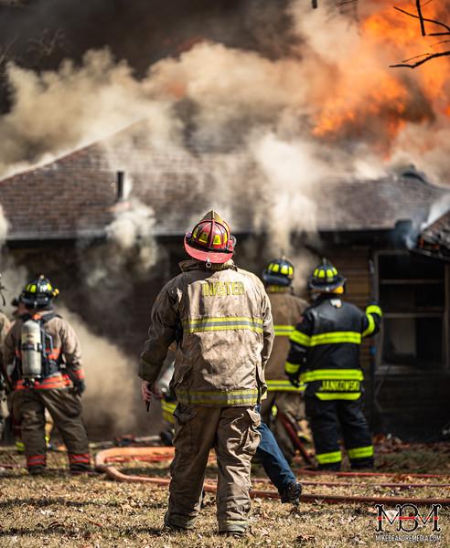 Inkster MI, House Fire 3-4-2020