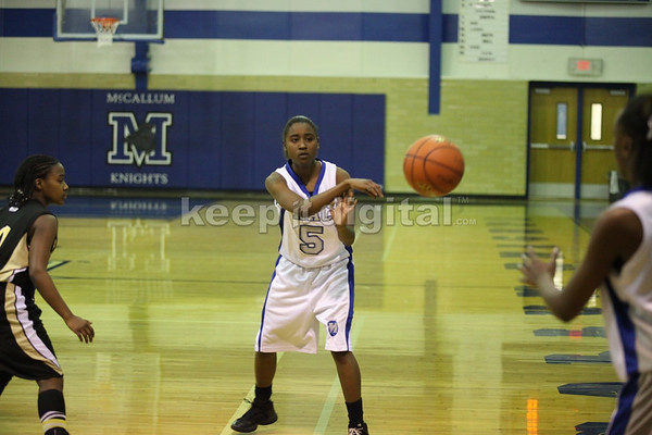 McCallum Girls Basketball vs Lanier