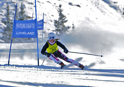 1-8-12 Age Class GS at Loveland - Ladies Run #2