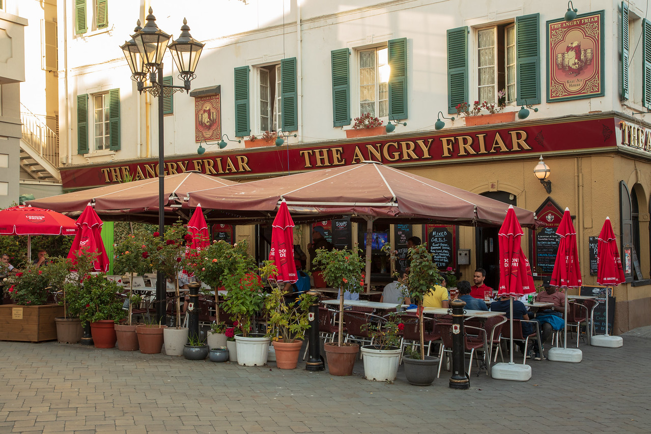 The Angry Friar Gibraltar Pub