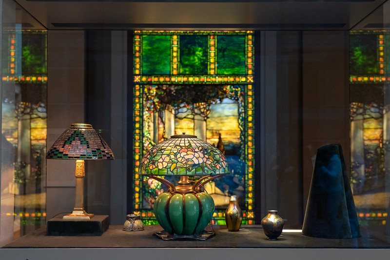 Tiffany glass at the Cleveland Museum of Art