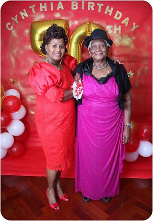 CYNTHIA' 50th BIRTHDAY PARTY