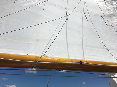 Sail out of Perkins Cove 1-July-2019
