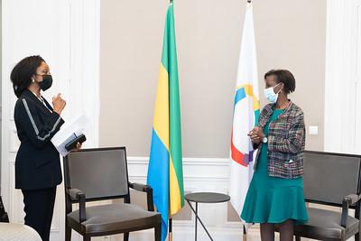 SEMme Liliane MASSALA - Ambassadrice du Gabon - Paris