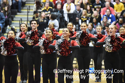 2/2/2019 Albert Einstein HS at MCPS County Poms Championship Blair HS Division 2,  Photos by Jeffrey Vogt Photography with Kyle Hall