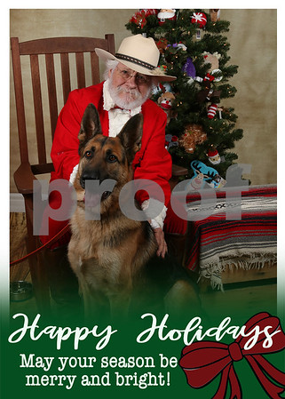 Mike's Dog Shop Holiday Cards