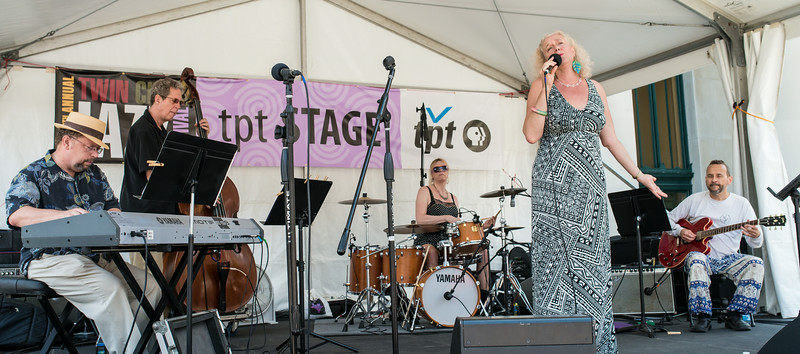 Lucia Newell and the Wolverine's Trio with Dean McGraw-2014 Twin Cities Jazz Festival