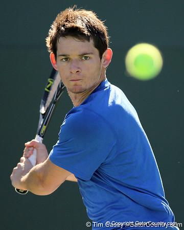 Photo Gallery: UF Men's Tennis vs. Baylor, 1/23/11