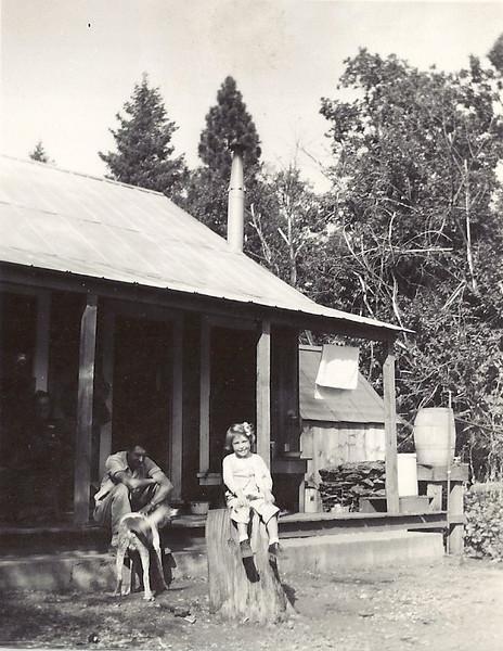 Charles Harris and Helen Carl, Lowell Hill, Ca