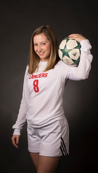 2017-2018 Soccer Girls- Banner Portraits
