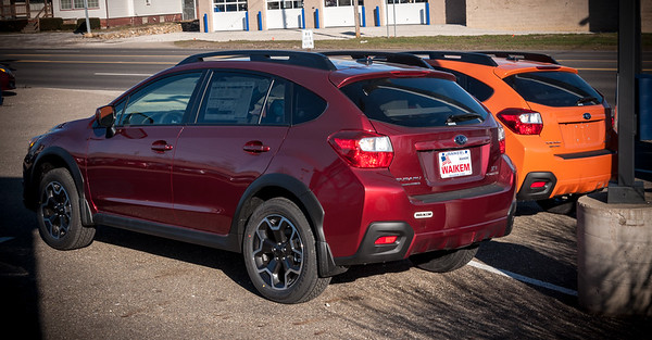 The New Subaru Crosstrek for 2013