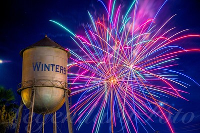 2015 July 4th Winters Fireworks